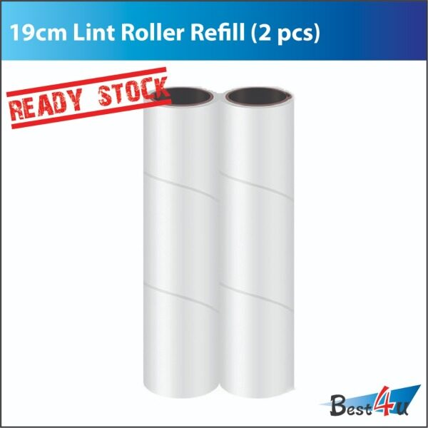 19cm Lint Roller Refill 2pcs / Sticky Roller Refill 2pcs