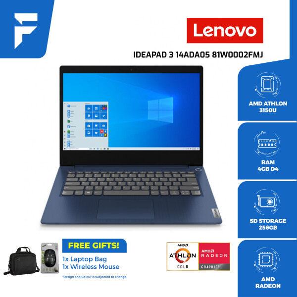 LENOVO Ideapad 3 14ADA05 81W0002FMJ<Blue> (FREE BAG & WIRELESS MOUSE) Malaysia