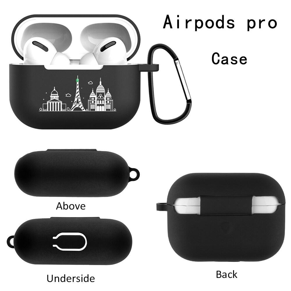 Hộp Đựng Tai Nghe Silicon Bluetooth Cho Airpods Pro Hộp Sạc Không Dây Bluetooth Cho Airpod 3 2019 Hình Hoạt Hình Sang Trọng Dubai City