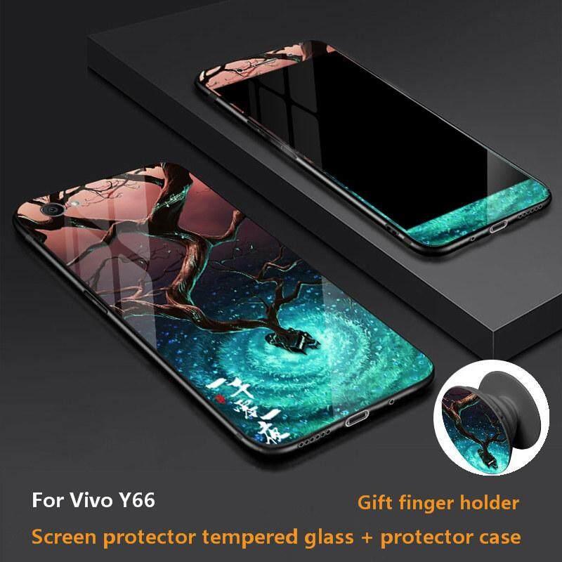 Rp 78.000. Kartun 360 Derajat Mencakup Semua Kaca Casing Ponsel untuk Vivo ...