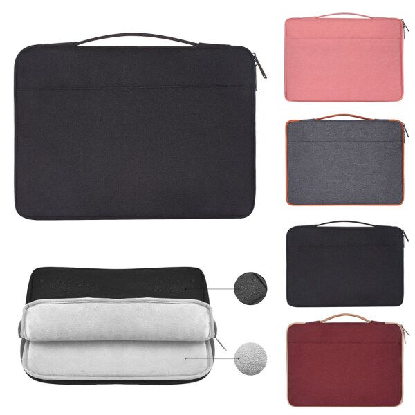 11 13 14 15.4 15.6 inch Laptop Bag Sleeve Case Cover Notebook Pouch Multi-function For MacBook Air Pro Lenovo HP Dell Asus