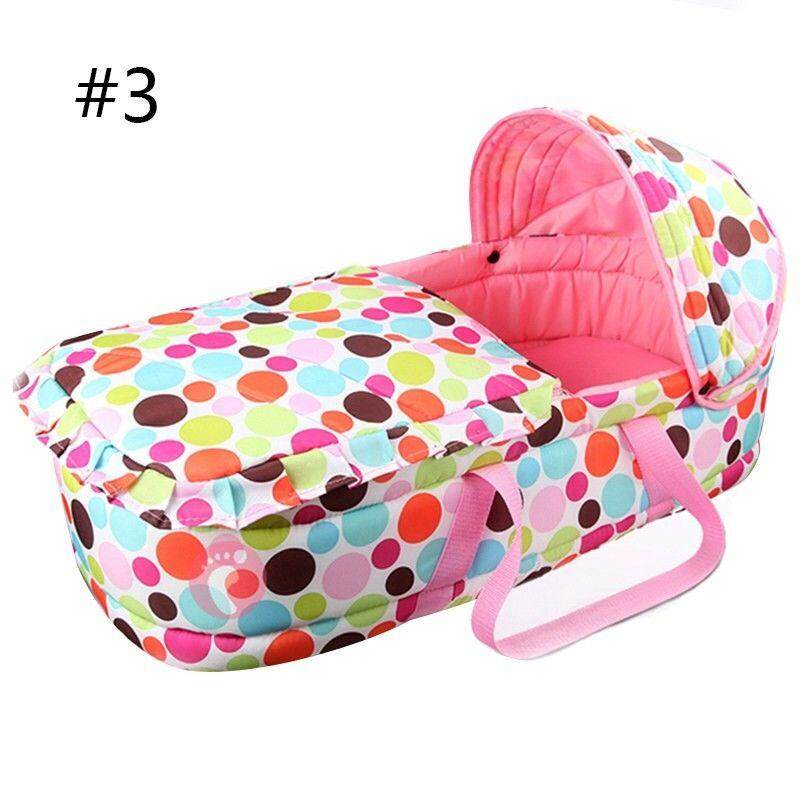 Newborn Baby Infant Moses Basket Portable Cradle Travel Bed Bassinet Comfortable By Freebang.
