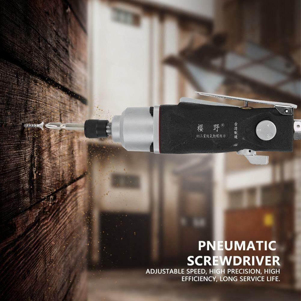 Industrial Straight Shank CW/CCW Air Pneumatic Impact Alloy ScrewdriverTool 9000RPM