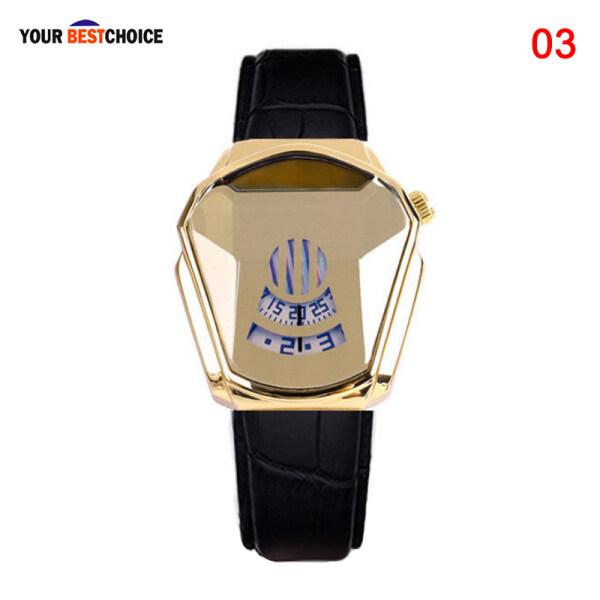 YBC Diamond Style Quartz Watch Waterproof Fashion Steel Band Quartz Watch for Men Women Malaysia