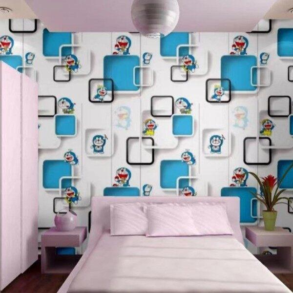 Waterproof Doraemon Wallpaper