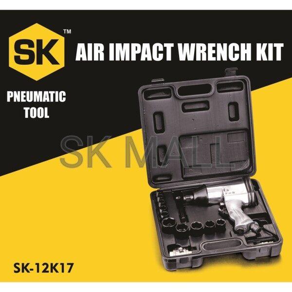 Heavy Duty 1/2 Air Impact Wrench Tool Single Hammer 330N-m Wrench Impak Udara