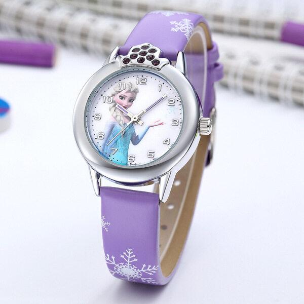 SWS♛『Kids Watches』Cartoon Cute Frozen Romance Childrens Watch Quartz Watch Malaysia