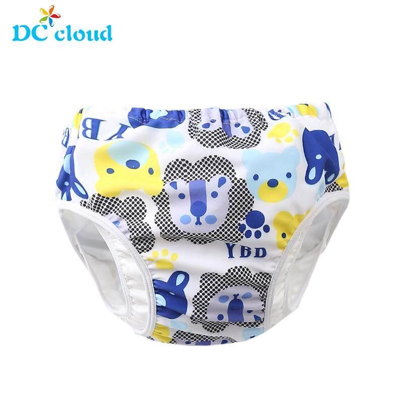 c8fe0630d Infant Children Baby Boys Girls Cute Pattern Swimwear Swimming Trunks  Shorts Leakproof Reusable Adjustable Boys Girls