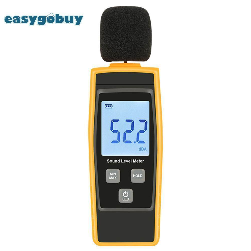 [easygoingbuy]30-130dB Mini Audio Sound Level Meter Decibel Noise Measuring Instrument