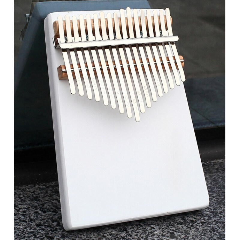 17 Keys Kalimba Thumb Piano Finger Percussion Wooden Instrument with Tune Hammer Accessories Portable Kit【Ready Stock】 Malaysia