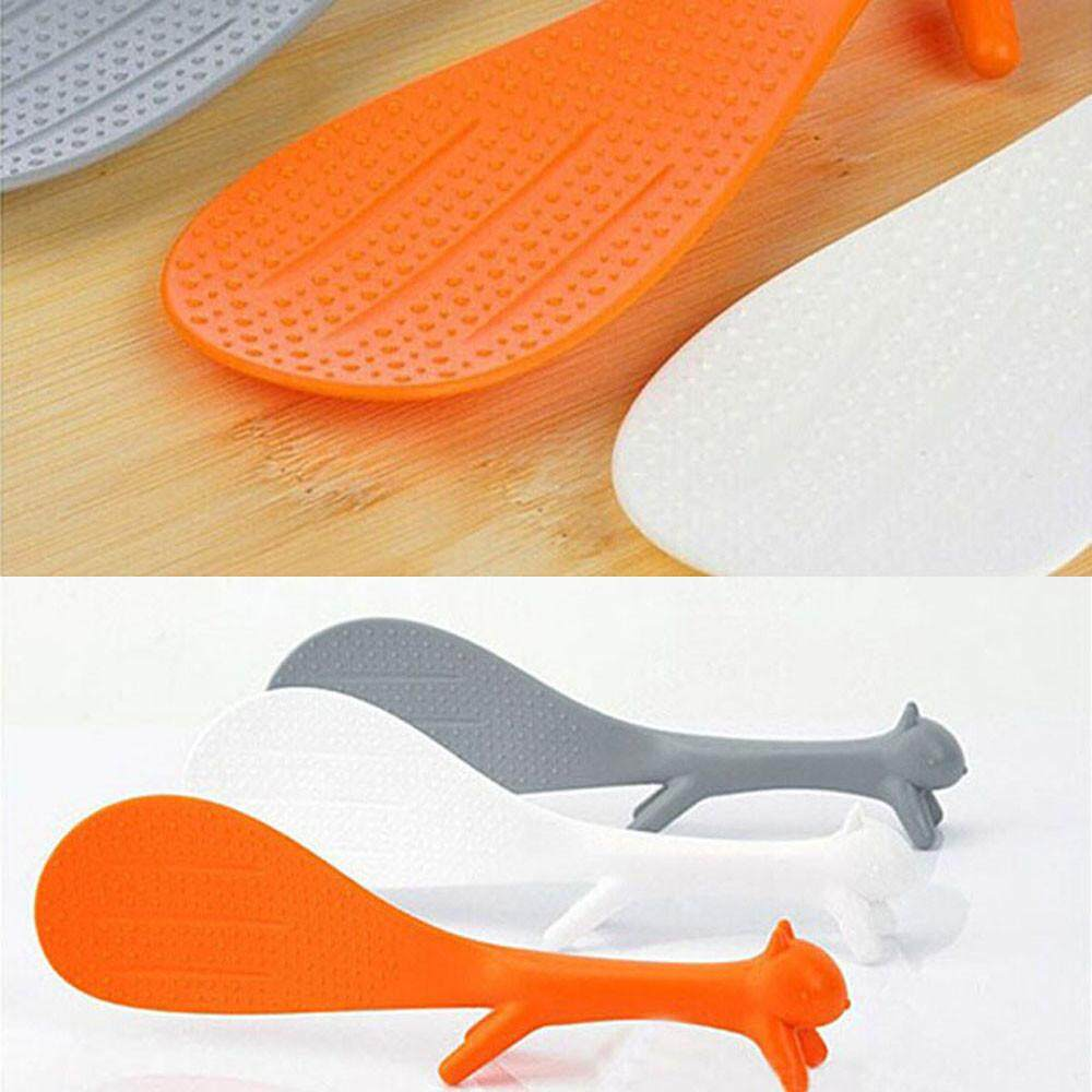 Gould Creative Lovely Kitchen Supplie Squirrel Shaped Non Stick Rice Paddle By Gouldshop.