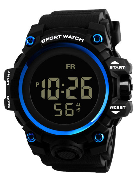 MEGALITH Mens Electronic Watch Digial Waterproof Alarm Clock Luminous Chronograph Watch For Man Rubber Sports Multifunction Malaysia