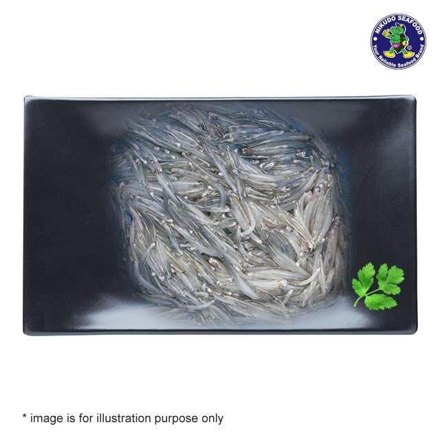 (KL & Selangor Delivery Only) Nikudo - White Bait Fish (Silver Fish) 10-12CM (1kg)