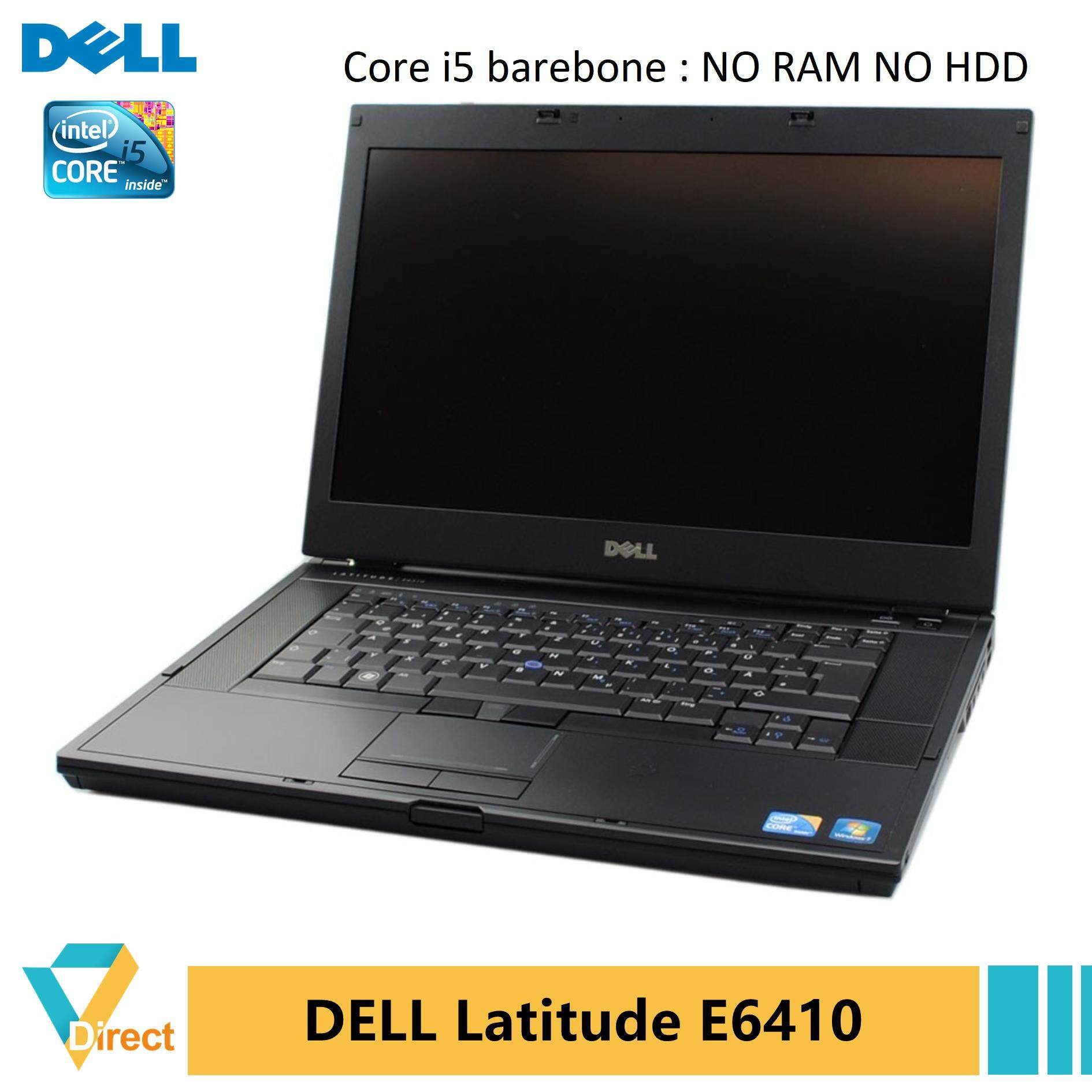 UP to 8GB RAM 960GB SSD Dell Latitude E6410 laptop PC - also 4GB 250GB 500GB HDD 120GB 240Gb 480GB FULLY refurbished Malaysia
