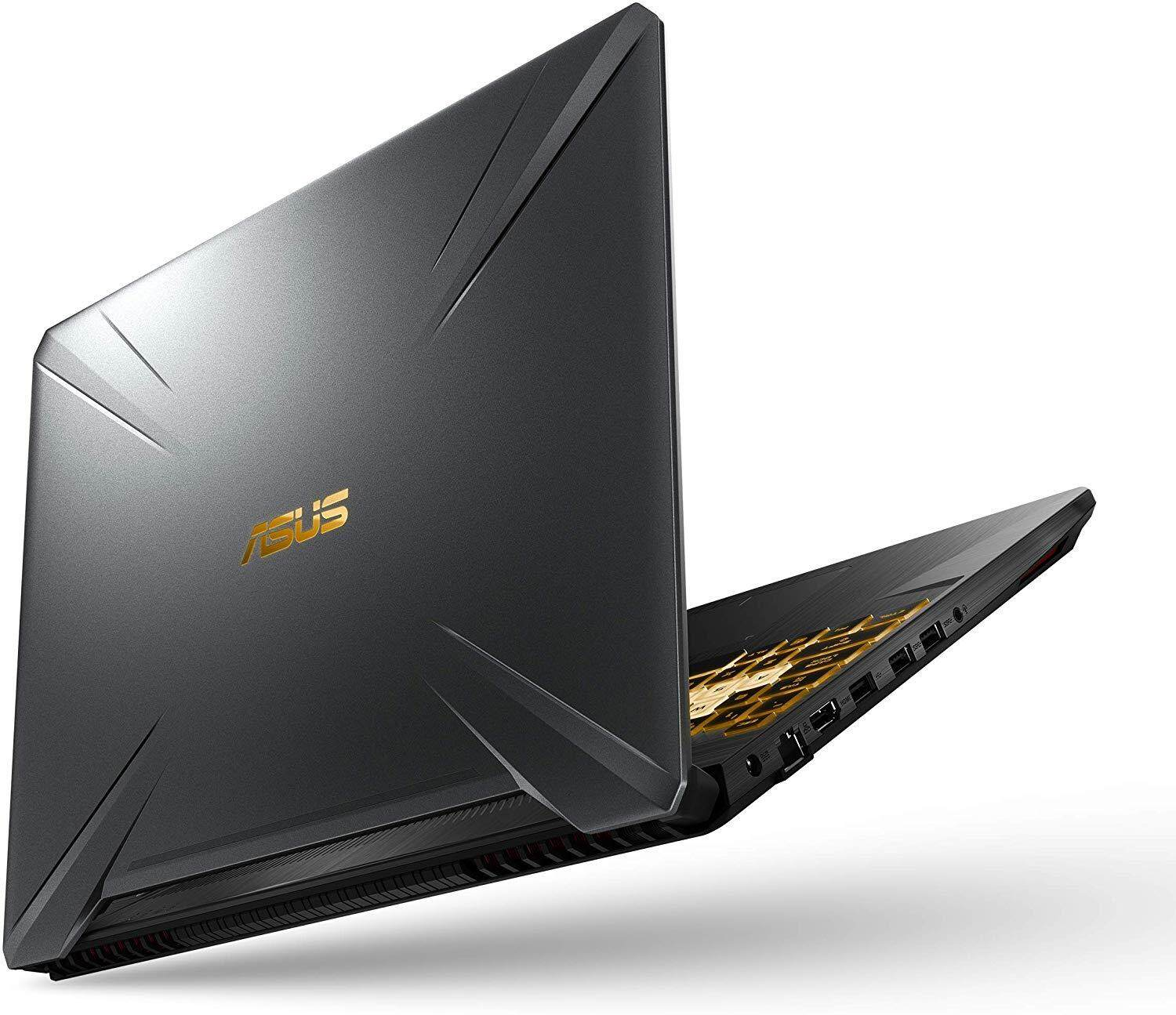 "ASUS TUF (2019) Gaming Laptop, 15.6"" 120Hz FHD IPS-Type, AMD Ryzen 7 R7-3750H, GeForce GTX 1660 Ti, 16GB DDR4, 256GB PCIe SSD + 1TB HDD, Gigabit Wi-Fi 5, RGB KB, Windows 10 Home Malaysia"