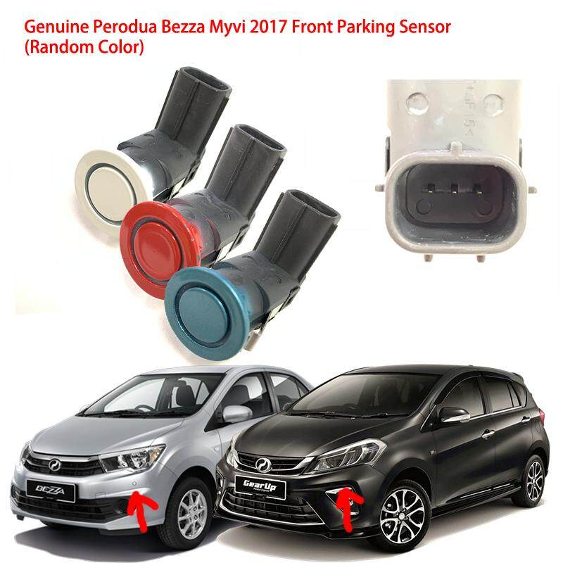 Genuine Perodua Bezza Myvi Axia 2017 Front Parking Reverse Sensor 1 Pcs ( Random Color) By Imart88.com.