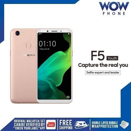 OPPO F5 YOUTH ,(3GB RAM / 32GB ROM) ORIGINAL MALAYSIA SET!! 1 YEAR WARRANTY  BY OPPO MALAYSIA!!