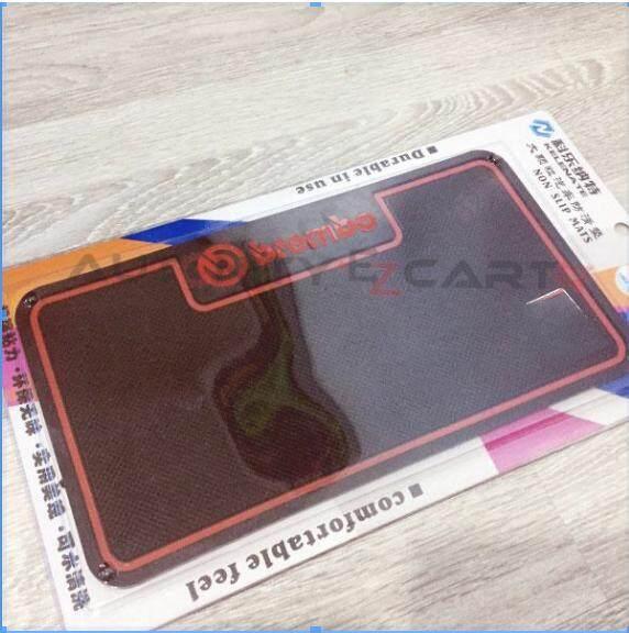 Multipurpose Non Slip Car Dashboard Mat Red B R E M Design