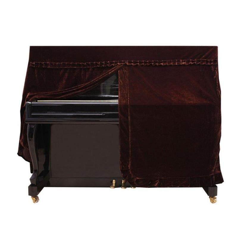 Đầu Đề Cập Đến Pleuche phủ đàn Piano nhung chống bụi tay