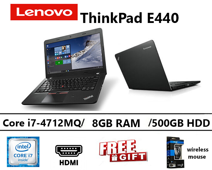 Lenovo ThinkPad E440 Intel core i7-4712MQ 8GB RAM 500GB HDD 14 INCH Malaysia