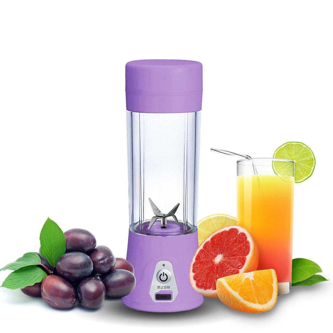 Most Popular Juice Extractor Portable Rechargeable Batt*ery USB Charging 380ml Juicer Cup