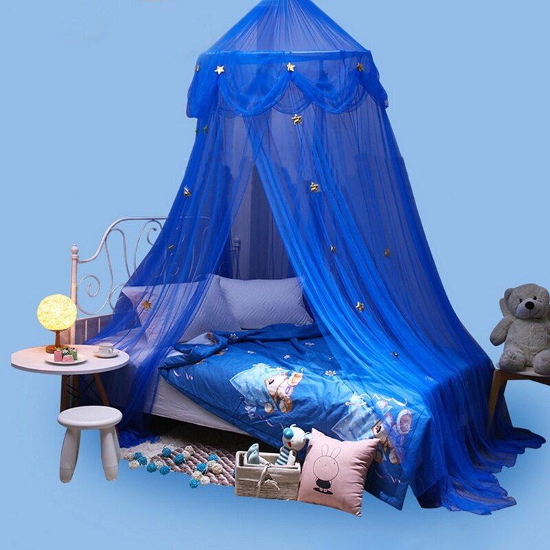 Bộ Đồ Giường Trẻ Em Treo Dome Giường Rèm Màn Chống Muỗi Cho Bé Rèm Che Giường Cho Bé Đọc Sách Chơi Đùa Trang Trí Nhà Cửa