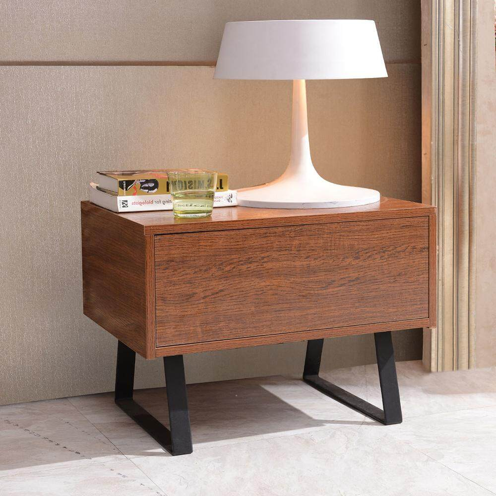 HOME BI Fashionable TV Cabinet Tea Table Office Side Table for Small Household