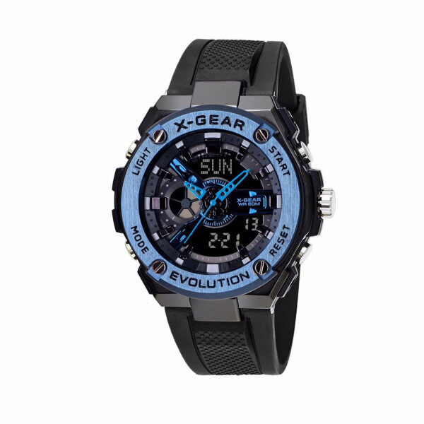 [100% Original X-GEAR] Military Sports X-Gear XG3788 Multi-function Digital Stainless Steel Sports Men Watch Jam Tangan Lelaki XGEAR Malaysia