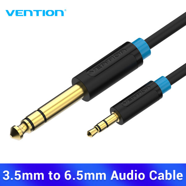 Vention 3.5mm to 6.35mm Adapter Aux Cable for Mixer Amplifier Guitar Bi-direction 6.5 Jack to 3.5 Jack Male to Male Audio Cable Singapore
