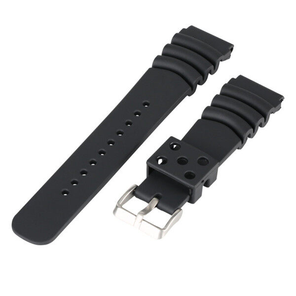 22mm Wristband Rubber Watch Band Strap Bracelet Replacement Malaysia