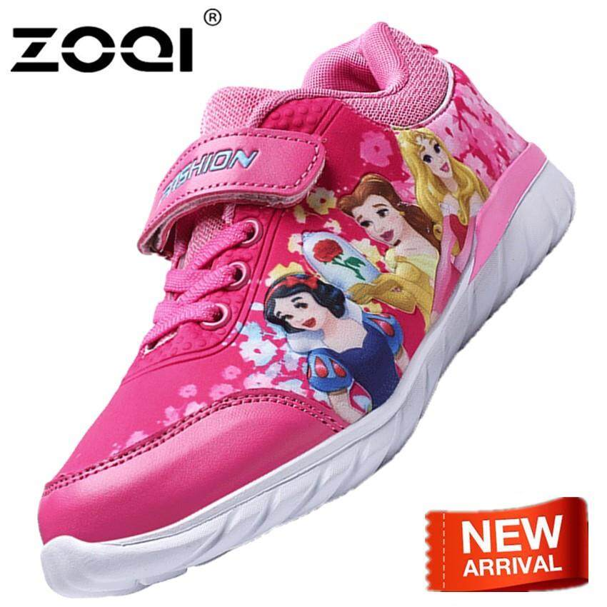 196837e0f113 ZOQI Shoes Fashion Lightsome And Comfortable Cartoon Pattern Sport Shoes  For Children Flexible And Durable Running