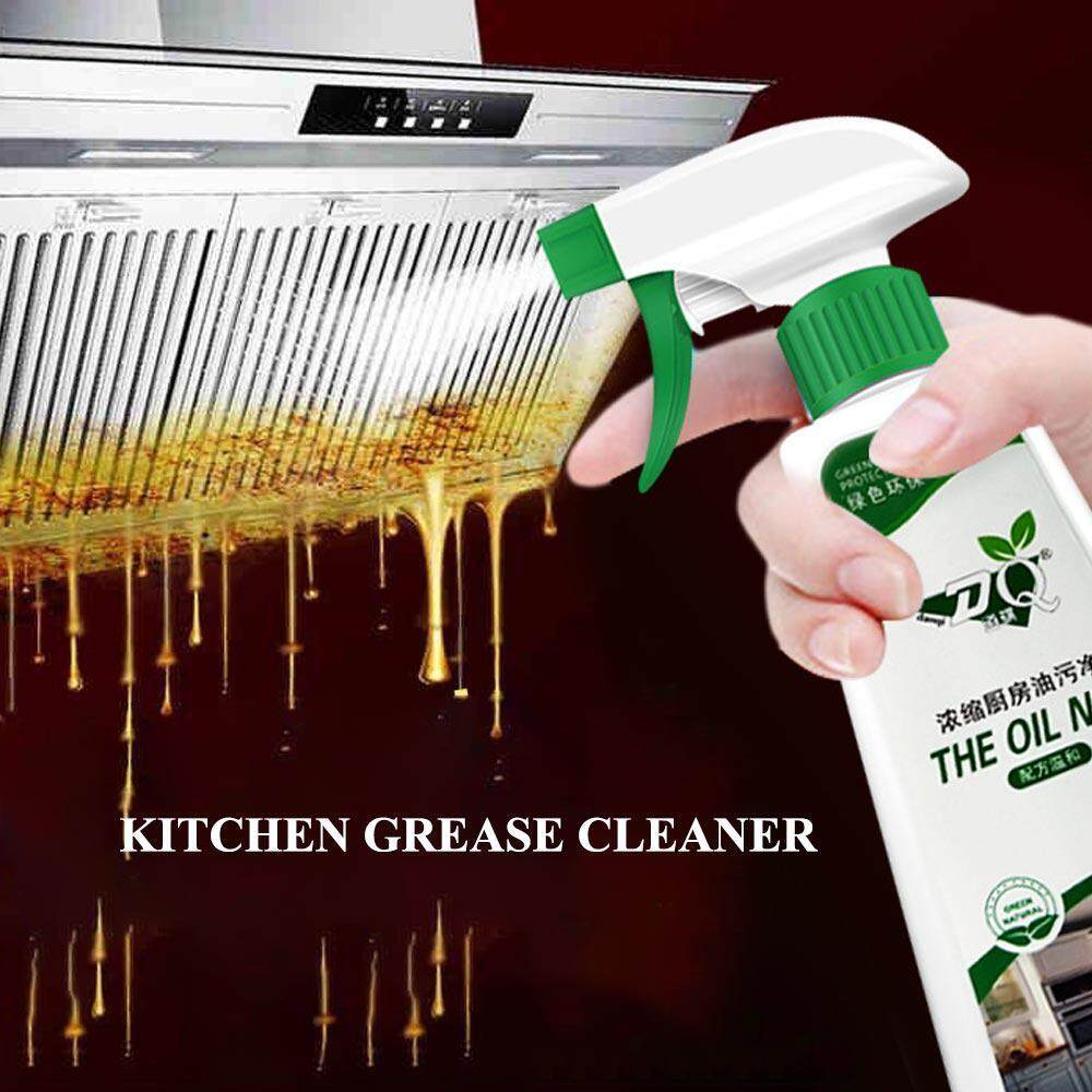 GoodGreat Kitchen Oil Stain Cleaner Oil Pollution Foam Cleaning Spray,Kitchen Grease Cleaner,100% Non-toxic,Free Water Wash