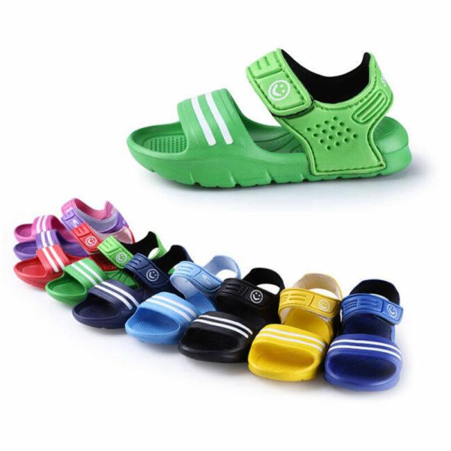 ( TG ) Giày Trẻ Em 2020, 1 Đôi Giày Trẻ Em Thường Ngày Xăng Đan Kín Mũi Đi Biển Mùa Hè Cho Bé Trai Giày Lười Đi Biển Thoáng Khí Đế Bằng giá rẻ