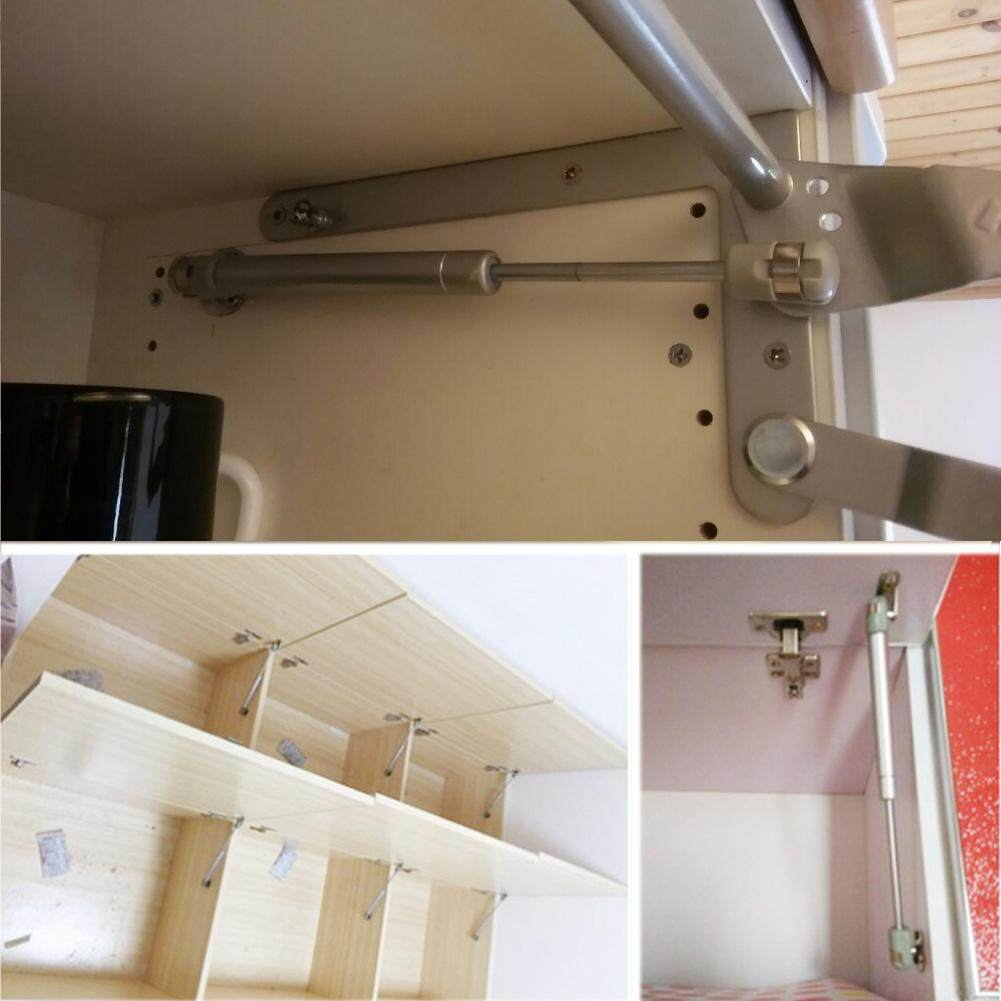 Gethome Pressure Support Rod Furniture Cabinet Door Stay Soft Close Hinge Hydraulic Gas Lift Strut
