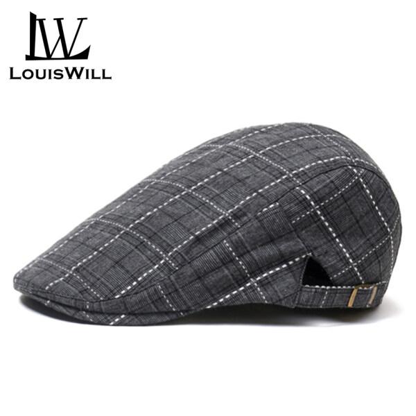 LouisWill Mũ Nồi Fang Fang Cho Nam Mũ Nồi Beret Nón Lưới Thoáng Khí Có Thể Điều Chỉnh Được Mũ Mùa Hè
