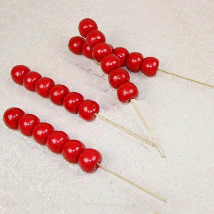 Foam Material Sugar-coated Haws on a Stick Children Photographic Prop Studio Wedding Dress Photo Taking Stage Performance Ancient Costume Classical