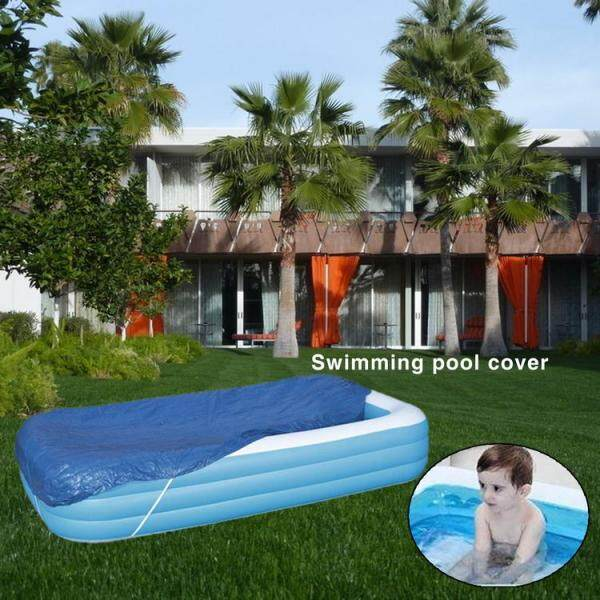 Swimming Pool Cover Dustproof Rainproof Thickened Poncho Cover Cloth