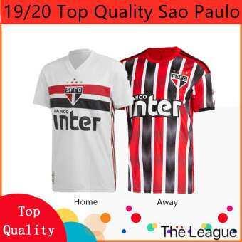 2019/2020 คุณภาพสูง SAO paulo บ้านและและ 3rd เสื้อแข่งฟุตบอลฟุตบอล Jersi การฝึกอบรมเสื้อไทย gred สำเนา Ori สำหรับชาย