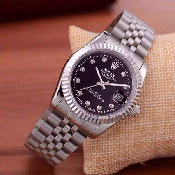 Hot Sale Original Rolexs Watch For Men Gold Alloy Strap Fashion Diamond-encrusted 2020 New Malaysia