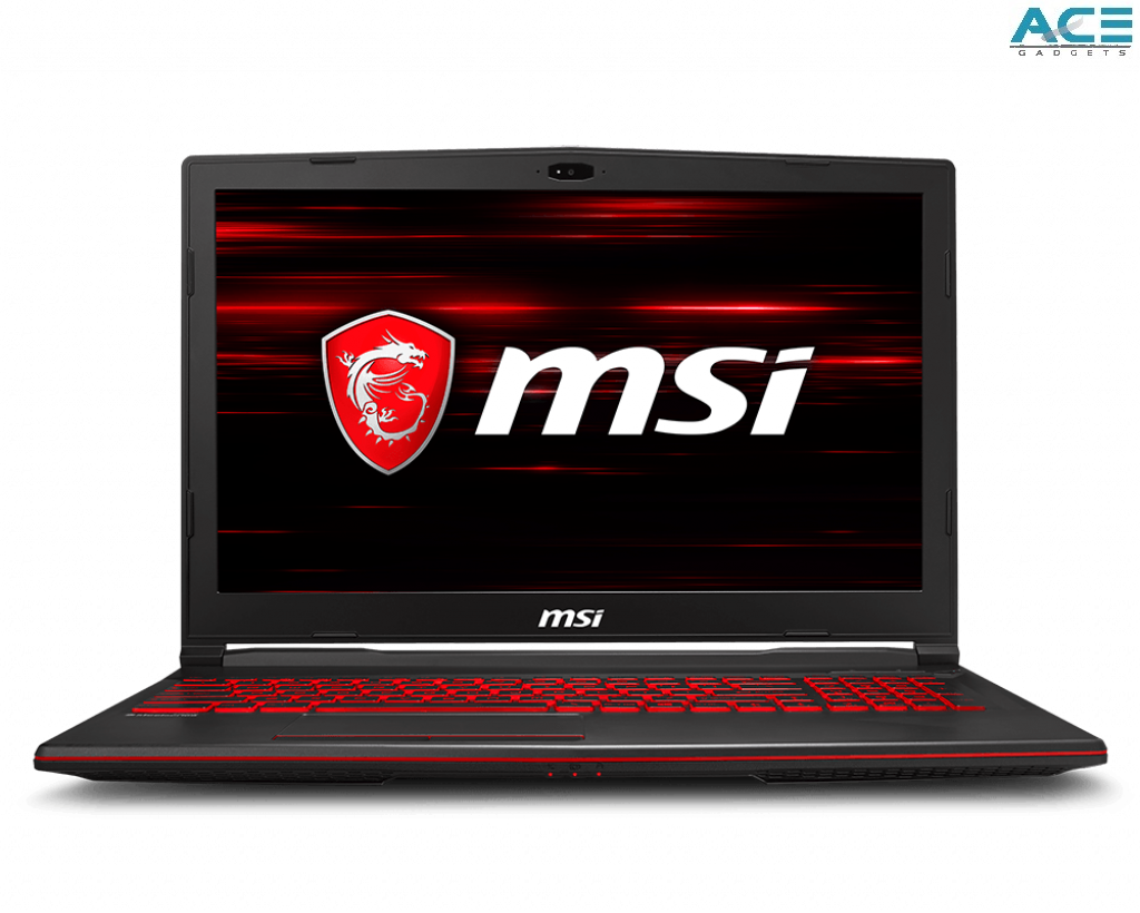 MSI GL63 8RC-412 Gaming Notebook (i5-8300H/4GB DDR4/1TB HDD/GTX1050 4GB/15.6FHD/Win10) Malaysia