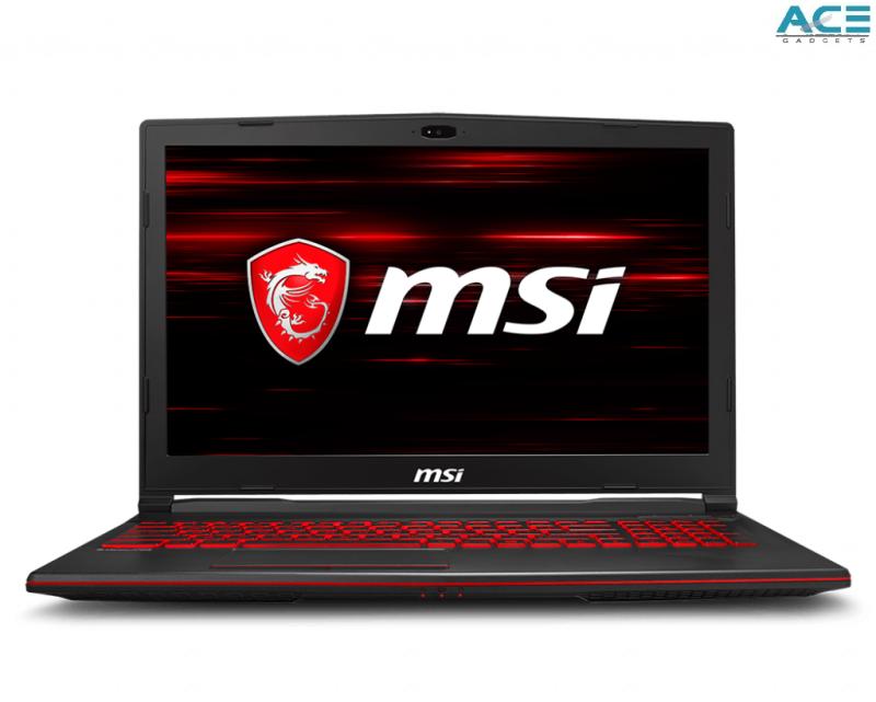 MSI GL63 8RC-412 Gaming Notebook (i5-8300H/4GB DDR4/1TB HDD/GTX1050 4GB/15.6FHD/Win10) Malaysia