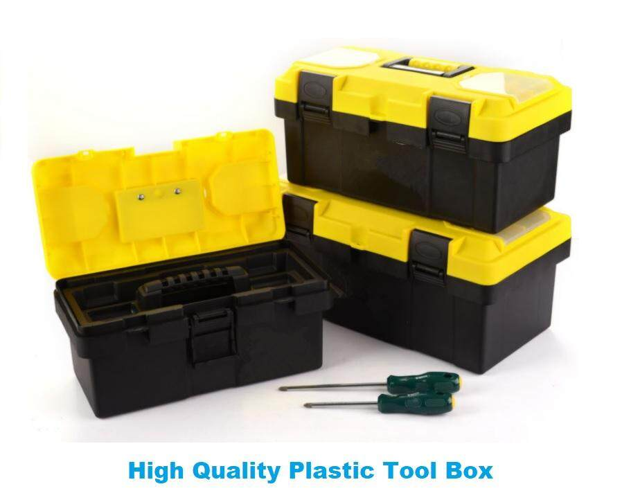 High Quality 14 Inch 17 Inch 19 Inch Plastic Tool Box Storage