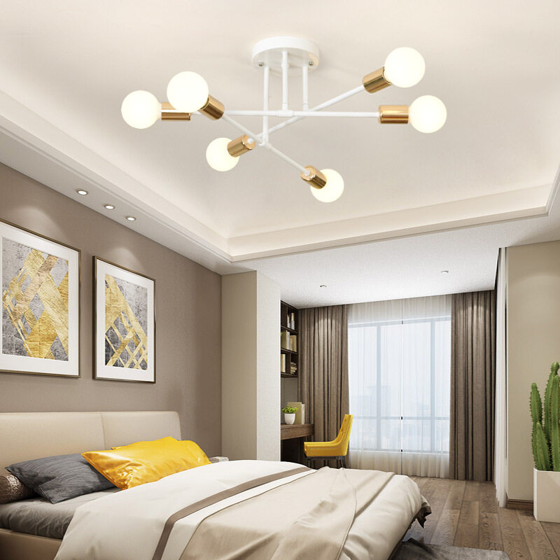 Hallway Wall lamp Glass Atmospheric Ceiling Light Remote Control Living Room lamp Made of Glass with Circular Decoration Living Room Bedroom 3 x G4 sockets LED Color Changer