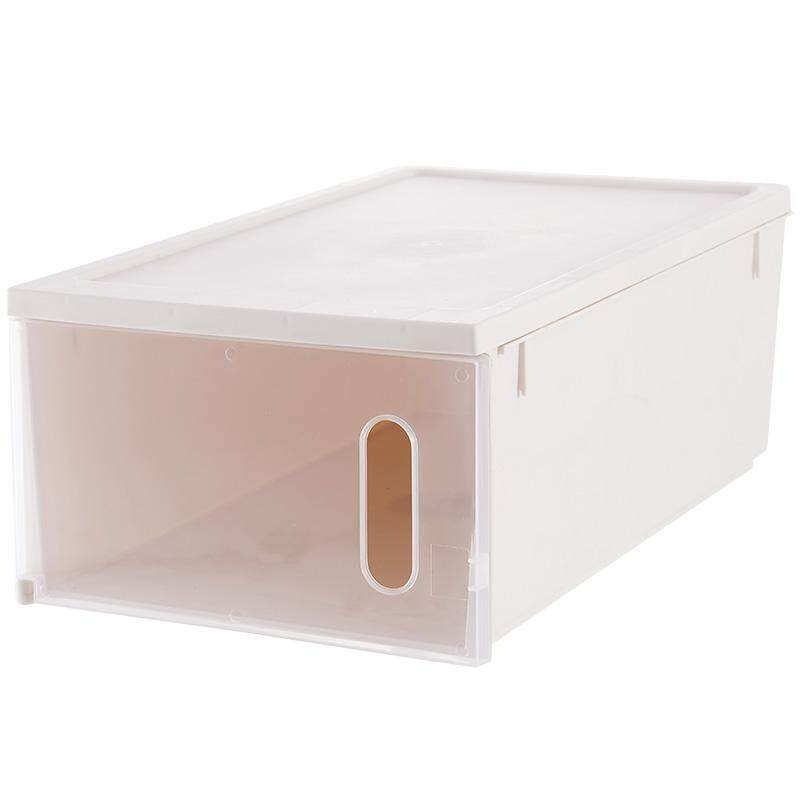 【Yassine】Transparent Shoe Box Shoe Receives A Box 6 Pack Dustproof Moistureproof Finishing Box