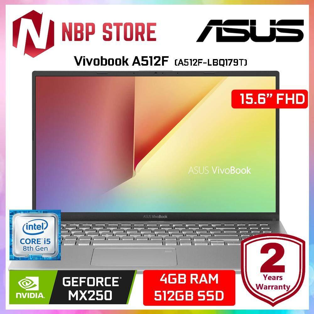 Asus Vivobook A512F-LBQ179T 15.6  FHD Laptop Transparent Silver ( i5-8265U, 4GB, 512GB, MX250 2GB, W10 ) Malaysia