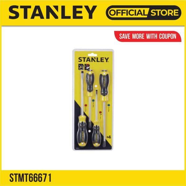Stanley STMT66671 (65-199-2) Cushion Grip Screwdriver Set 4pcs