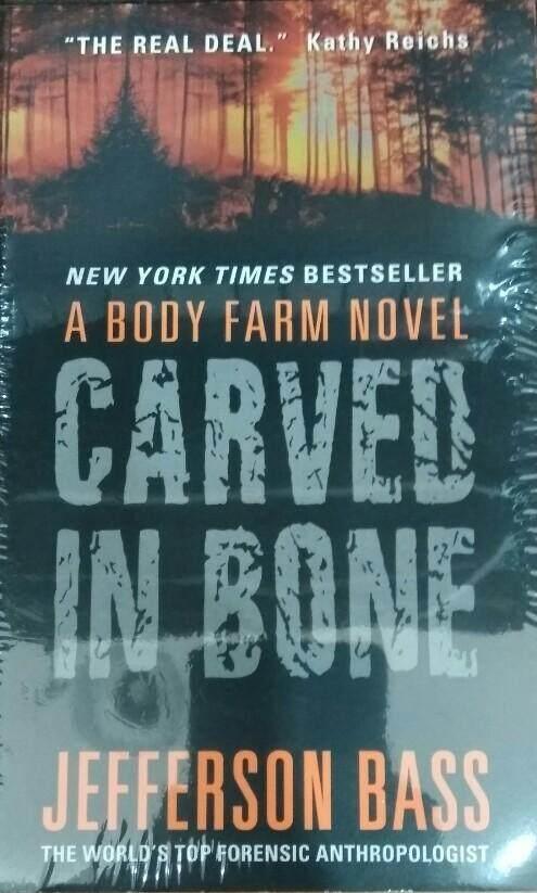 Carved In Bone Jefferson Bass Fiction Novel Lazada