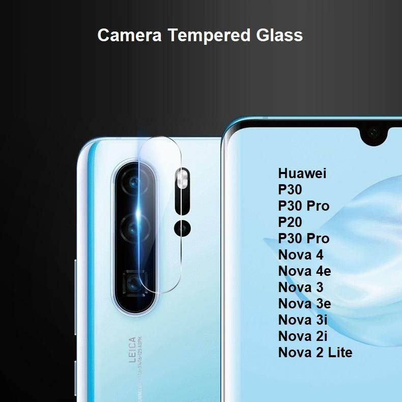 Huawei Nova 3 3i 3E 4 4E 2 Lite 2i P20 P20 Pro P30 P30Pro Back Camera  Tempered Glass Protector 2 5D