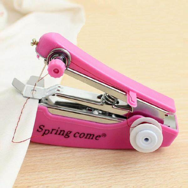 L-Sweet 1pc Portable Manual Sewing Machine Sewing Tools Sewing Cloth Fabric Handy Needlework Tool