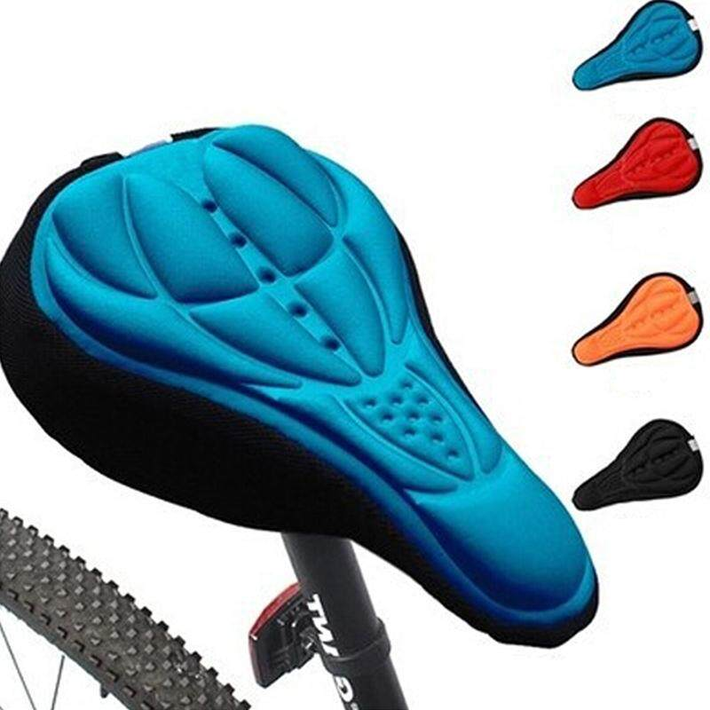3D Outdoor Soft Cycling Bicycle Silicone Bike Seat Cover Cushion